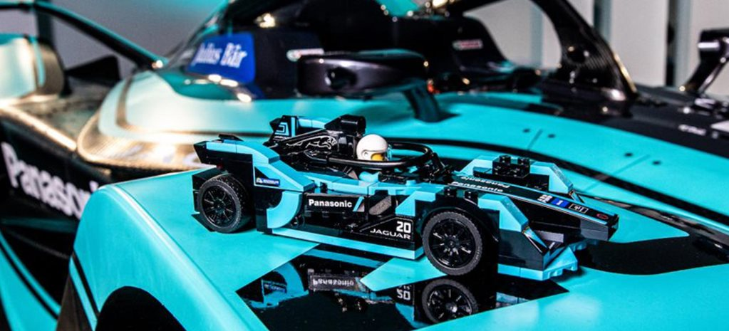 Jaguar Formula E and i-Pace eTROPHY racers Lego Speed Champions series news