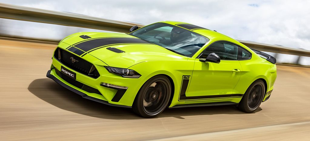 Ford Mustang R-Spec revealed Australia news