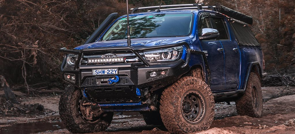 Custom Toyota N80 Hilux review Taylor Shaw feature