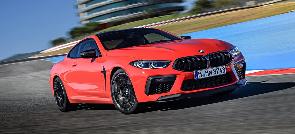 2020 BMW M8 Competition performance review feature