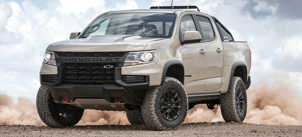 2021 Chevrolet Colorado ZR2 revealed SEMA debut news