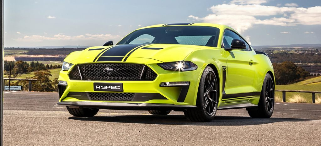 Ford Mustang R-Spec production story news