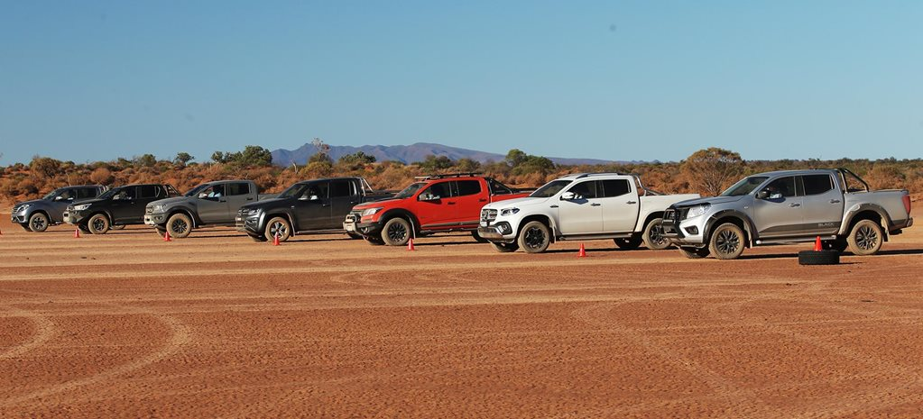 4x4 dual-cab ute speed test feature