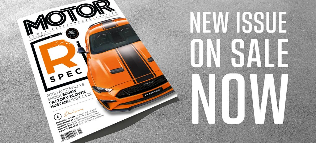 MOTOR Magazine November 2019 issue preview feature