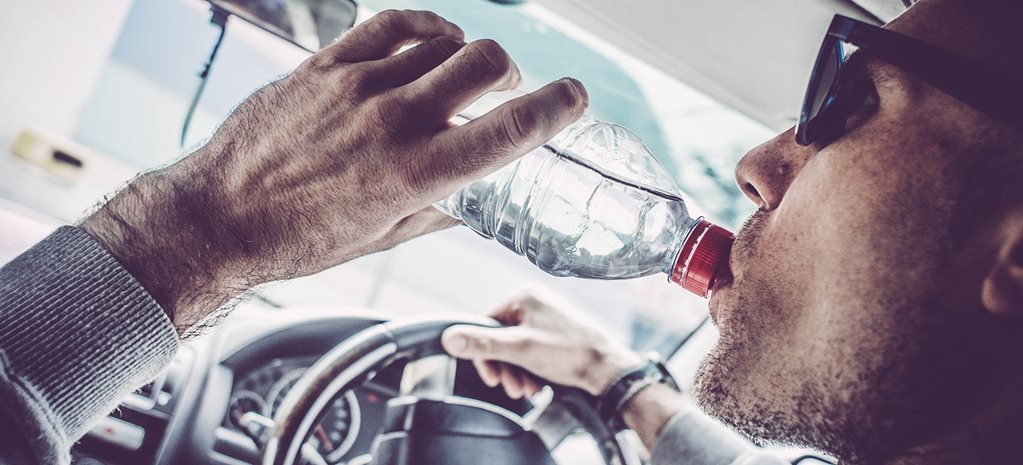 Queenslander claims he was fined for drinking water while driving