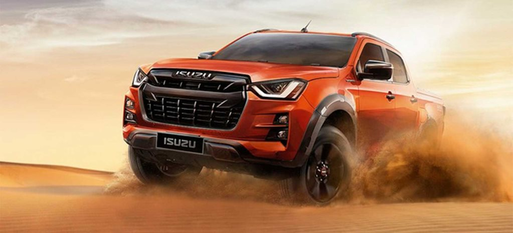 This is the new 2020 Isuzu D-Max