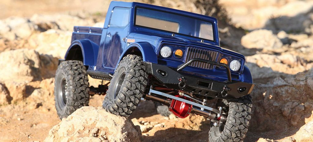 Axial SCX10 is the Jeep Wrangler of the RC world