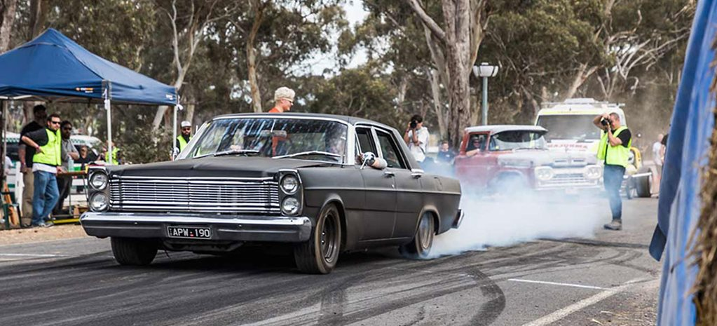 Turbocharged 1965 Ford Galaxie at Chopped