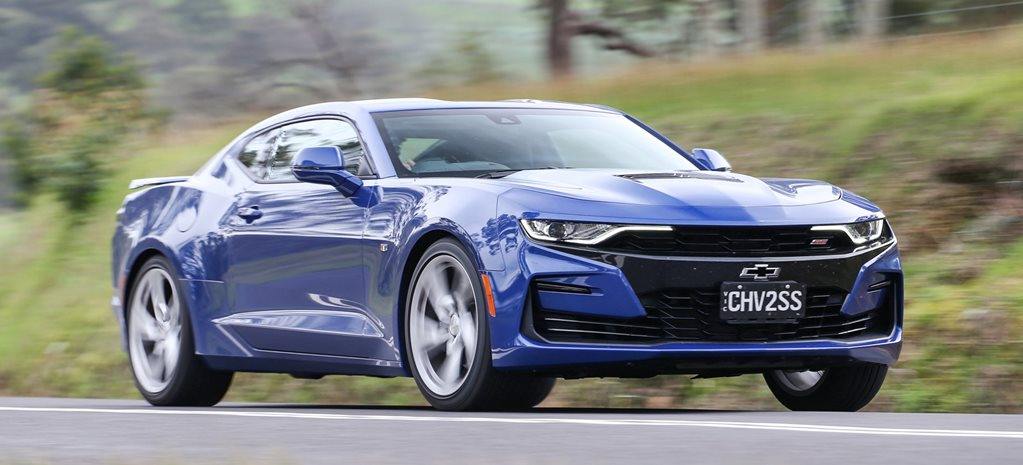2019 Chevrolet Camaro SS manual performance review feature
