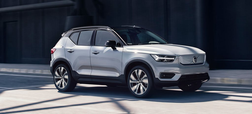 2020 Volvo Xc40 Recharge Packs A 300kw Punch
