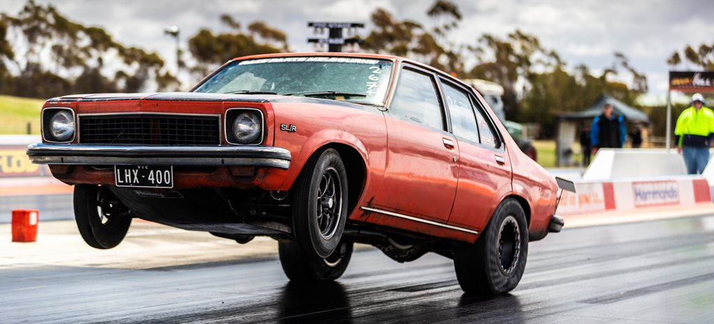 Monster wheelstands and PBs at Drag Challenge testing, Swan Hill