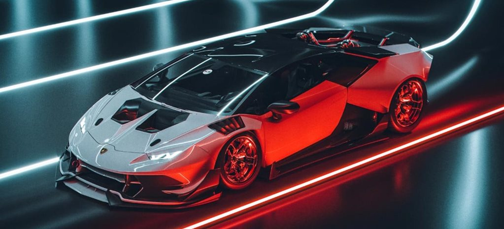 Twin-turbo LS V8 Lamborghini Huracan SEMA news
