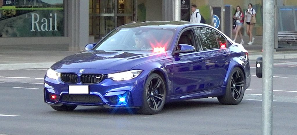 Unmarked BMW M3 police car spotted in Canberra news