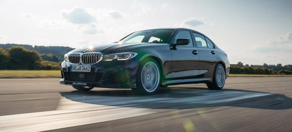 Alpina B3 Sedan confirmed performance figures news