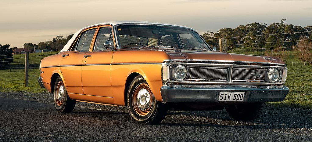 549hp 1971 Ford XY Falcon 500 sleeper
