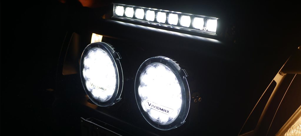 EFS LED Vividmax driving light bar product test review