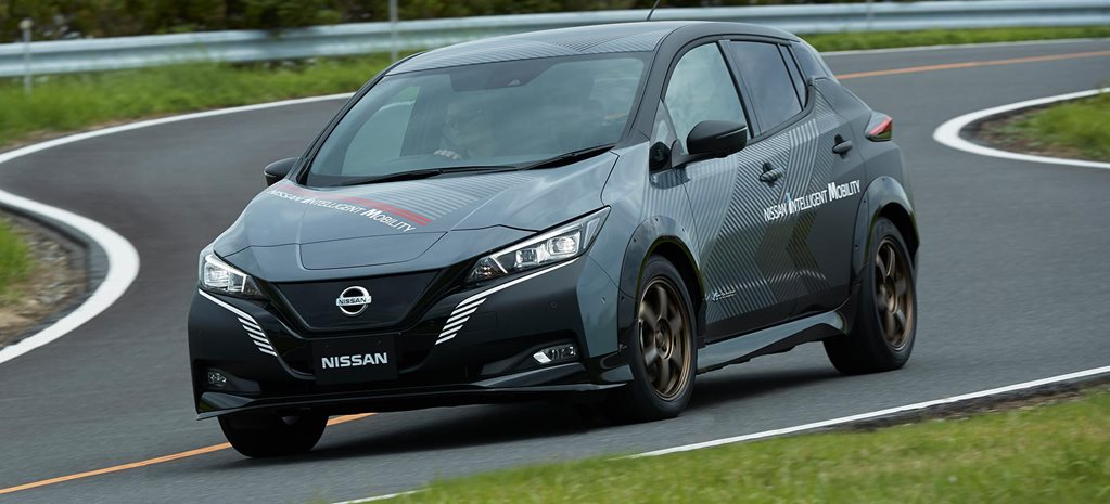 Nissan Leaf becomes 227kW hot hatch test bed news