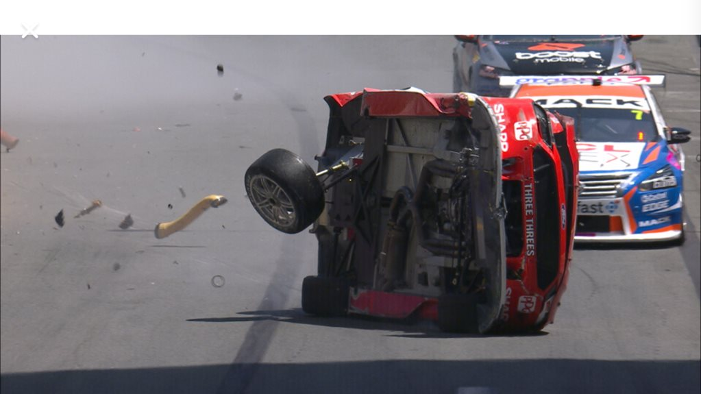 Scott McLaughlin Gold Coast 2019 crash