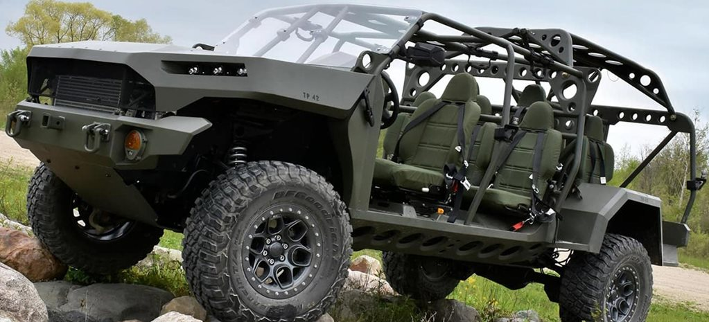 US Army Infantry Squad Vehicle based on Colorado ZR2 news
