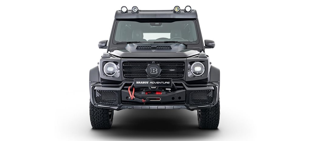 Brabus Adventure Package G-Class launched news