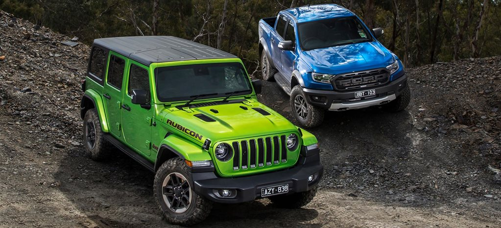 Ford Ranger Raptor vs Jeep Wrangler Rubicon comparison review