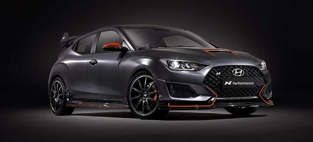 Hyundai Veloster N Performance Concept revealed SEMA news