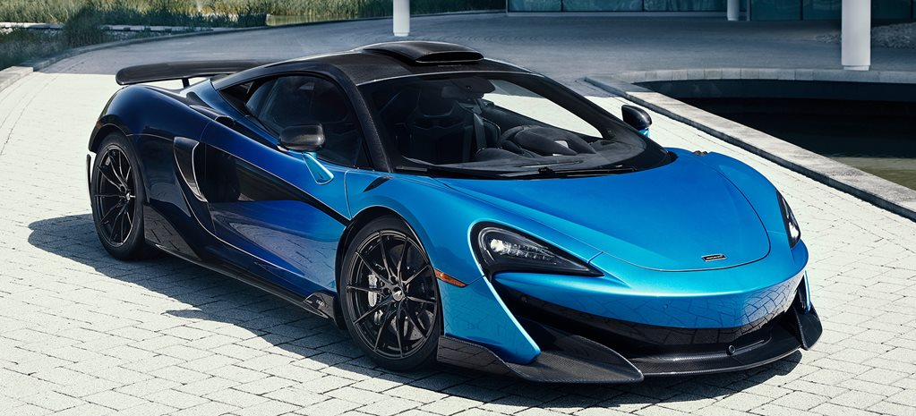 McLaren 600LT painted in a crazy one-off hue
