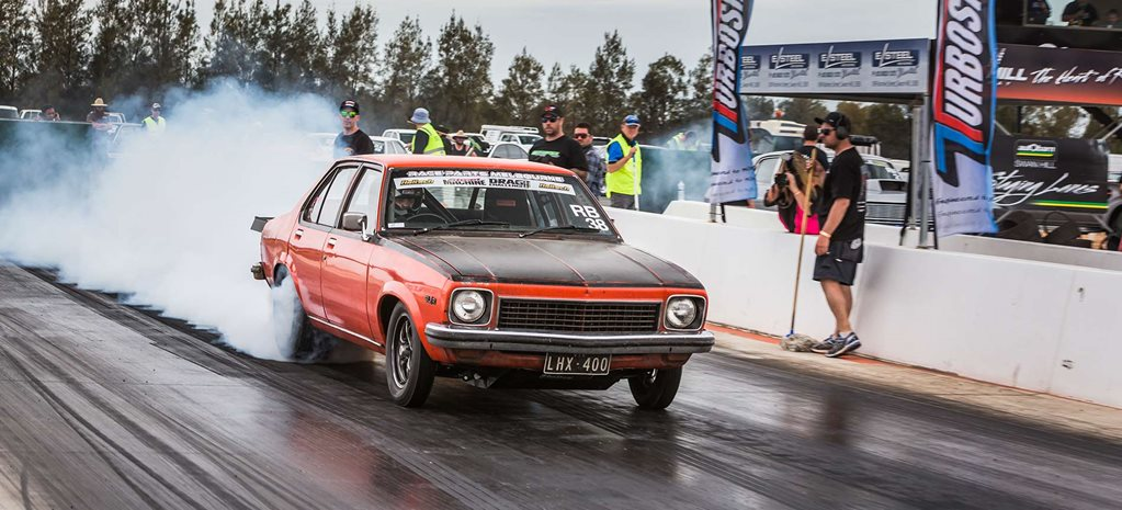 Mark Drew's LS-powered 'Crusty' Torana set for Drag Challenge