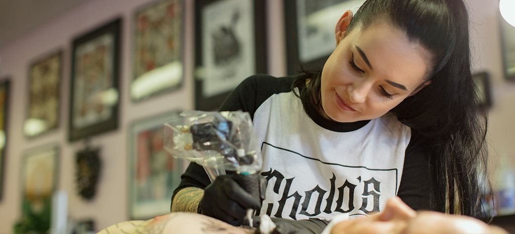 Tattoo artist Drea Darling - interview