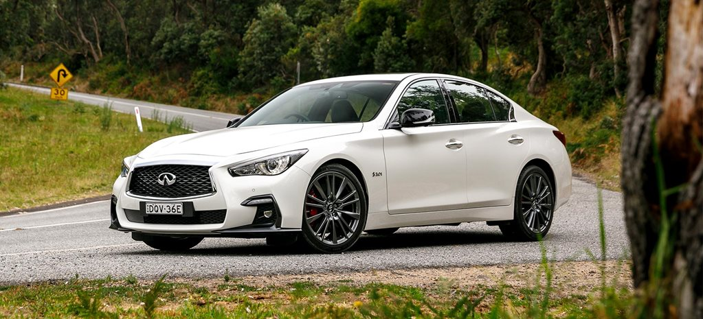 Infiniti Q50 Red Sport long term review feature