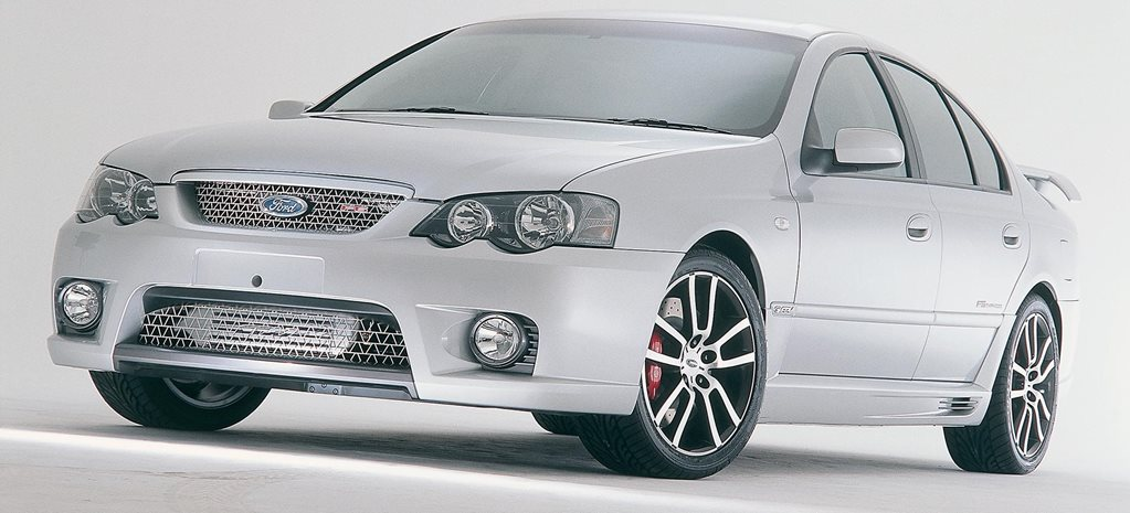 2004 FPV Falcon F6 Typhoon detailed feature