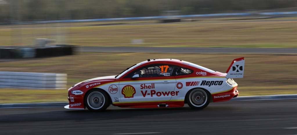 Car 17 DJR Team Penske Scott McLaughlin chassis 007