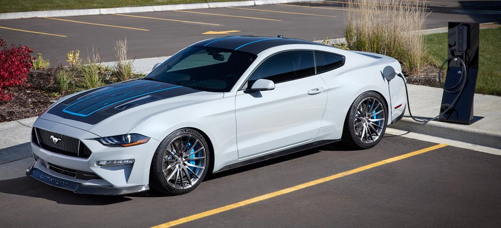 All-electric six-speed manual Ford Mustang unveiled SEMA 2019 news