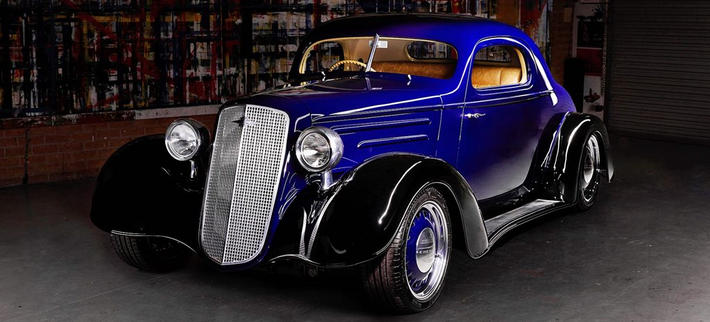 Peter Fitzpatrick-built LS2-powered 1935 Chev coupe