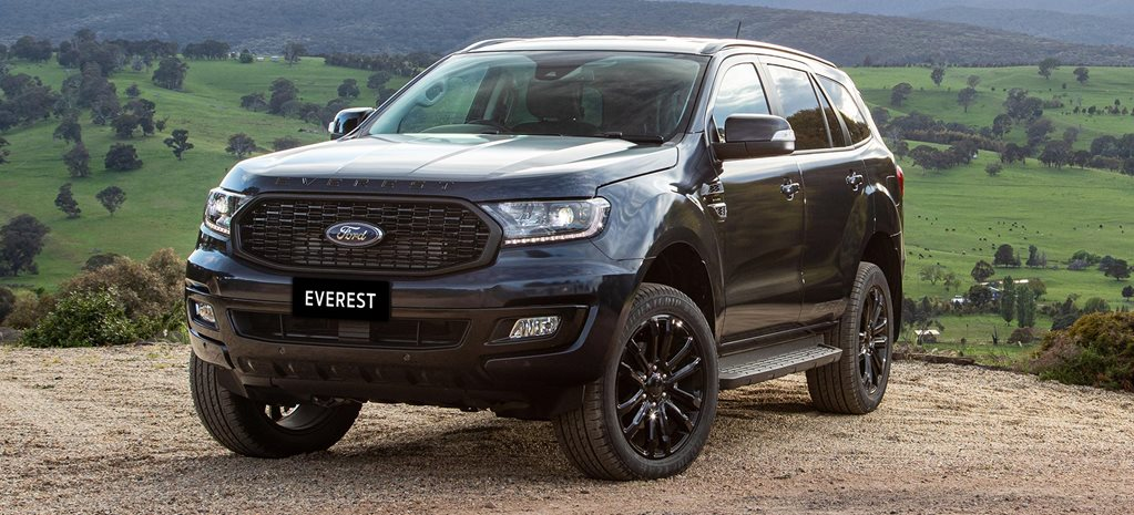 2020 Ford Everest Sport variant revealed news