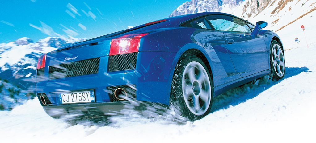 Lamborghini Gallardo Italian Alps drive feature