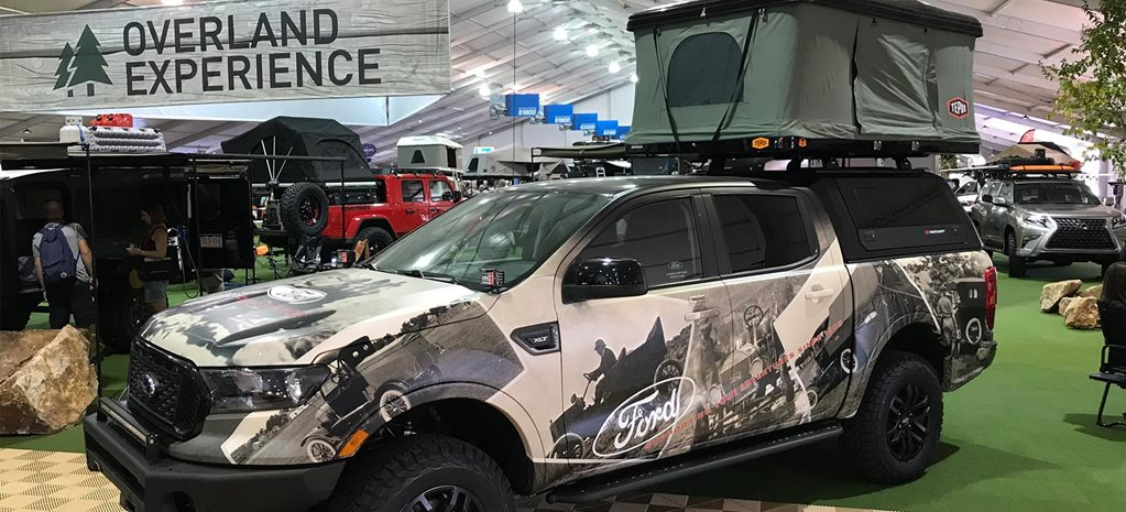 The Overland Experience exhibit 2019 SEMA Show feature