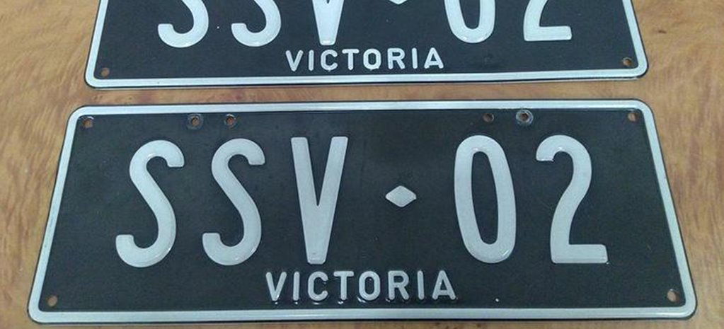 holden number plates