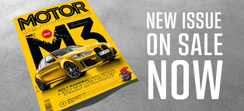 MOTOR Magazine December 2019 issue preview news