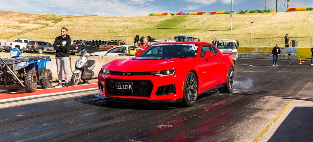 Drag racing newbie competes at Drag Challenge in 640hp Camaro ZL1