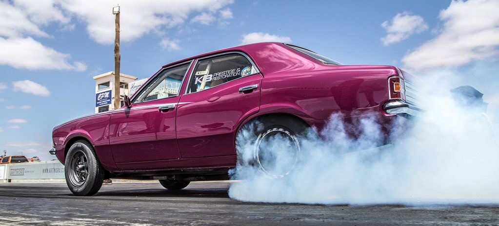 Barra-powered Ford Cortina wins Six-Cylinder class at Drag Challenge 2019