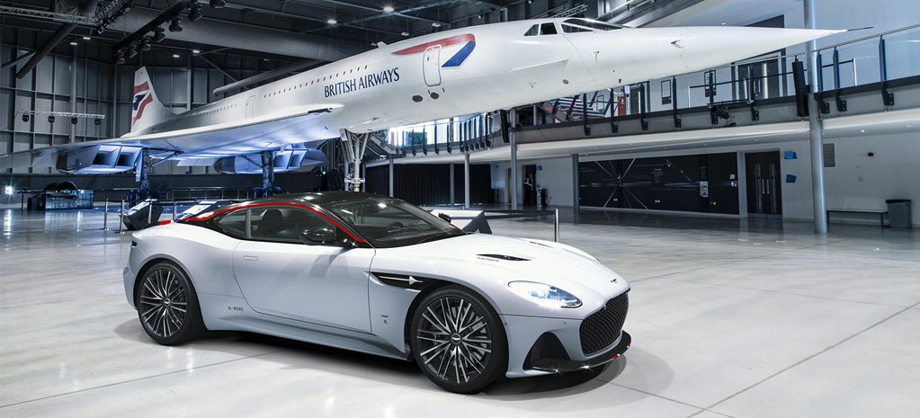 Aston Martin DBS Superleggera Concorde unveiled news