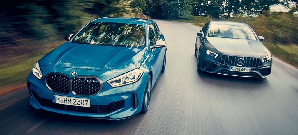 BMW M135i xDrive vs Mercedes-AMG A45 S comparison feature