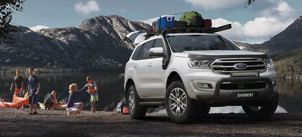 BaseCamp Accessories Pack Ford Everest news