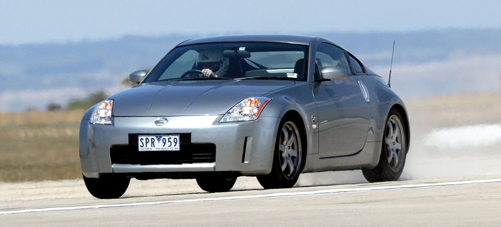 Performance Car of the Year 2004 4th place Nissan 350Z Track feature