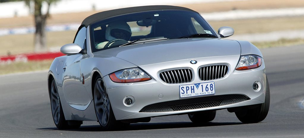 Performance Car of the Year 2004 6th place BMW Z4 feature
