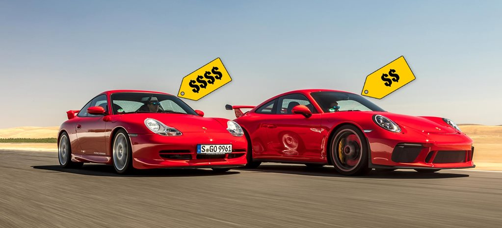 Performance cars are cheap past present price comparison feature
