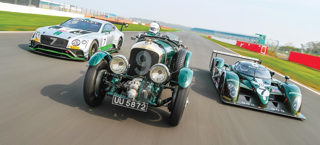 Bentley Le Mans racers driven feature
