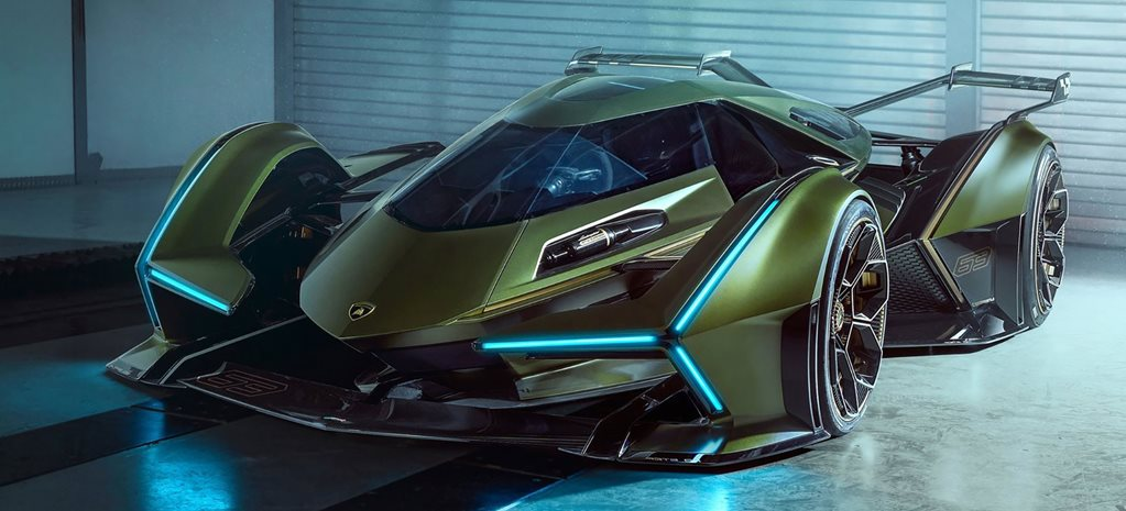 You can drive the Lamborghini V12 Vision Gran Turismo Concept