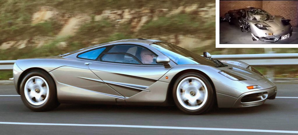 The unbelievable story of Australia's crashed McLaren F1